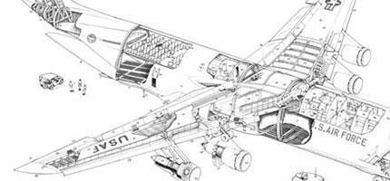 無比巨大的c-5-galaxy-飛機