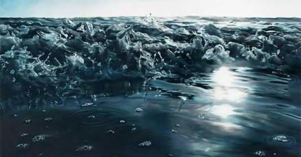 畫出最真實的海