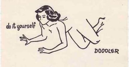 這名藝術家把這張有性別歧視的漫畫變成令人啟發的藝術。只有心靈純潔的人才會看到別的角度。