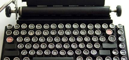 復古電腦鍵盤