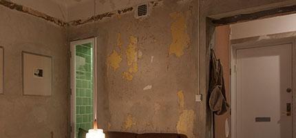 Stockholm破舊不堪的房子被裝潢成完美的空間