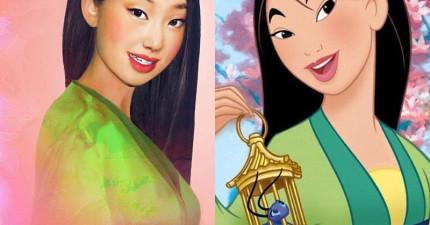 17個被「變成真人的」迪士尼女主角 這個版本的貝兒比艾瑪華森還要正!