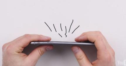 iPhone-6-彎曲測試