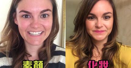 這個一輩子都素顏的女孩挑戰了一星期化妝。結果,到底哪一種女生比較美?