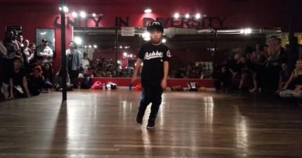 8歲超強小舞者