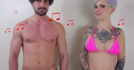 Sarah-X-和男朋友Terry-Crews電胸舞