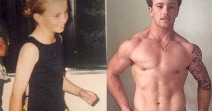 一名20歲的女生,在跟超有男人味的男友交往一陣子後才發現他其實是變性人。