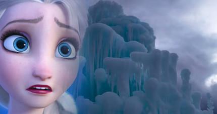 每年一到冬天,這個小鎮就會變身為連《冰雪奇緣》的艾莎看了大概都會忍不住讚賞的華麗冰宮!