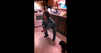 媽媽做飯勁歌熱舞