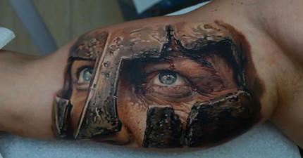 我從來沒想過要刺青,但這30個超寫實的刺青頂尖藝術讓我完全動心了!