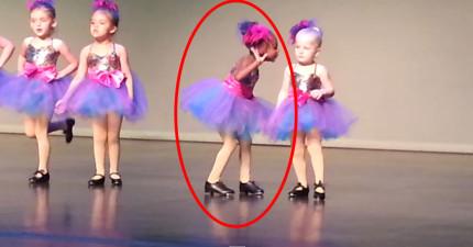 四歲爆笑跳舞女生