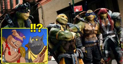 電影《忍者龜:變種世代2》預告片首度曝光!見到當年的經典反派現身在電影裡真的太熱血了!