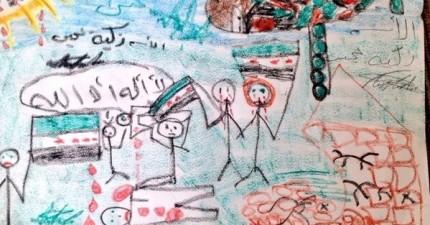 18張「人生真的有黑暗的一面」照片 敘利亞10歲小妹的家庭照讓人很想哭