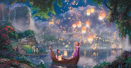 這名藝術家畫出來的迪士尼經典動畫畫作,竟然能比動畫本身還要好看10倍!