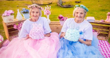 這對雙胞胎姊妹決定拍「爆可愛寫真」來慶祝100年的點點滴滴!#8 勝過當億萬富翁!