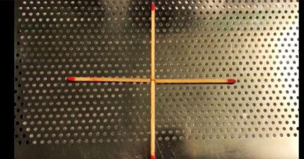 腦力激盪/你有辦法「只移動一根」就把4根火柴變成一個正方形嗎?