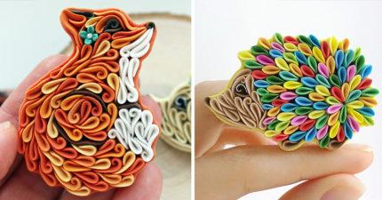 看起來像摺紙,但摸起來會讓你嚇一跳的驚人小動物!