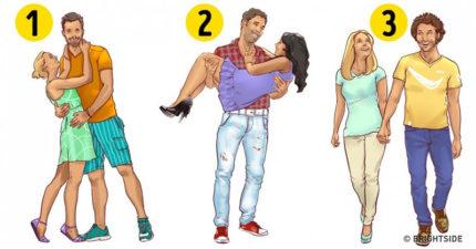 選出第一眼看到「最快樂的情侶」,就能精準說出「你現在的感情狀況」!