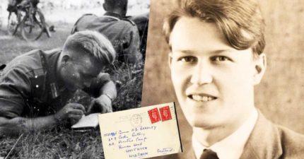 二戰同志士兵相戀信裡寫「我們的情書能在更開明的時代收集成一本書該有多好」...80年後這本書要推出了!