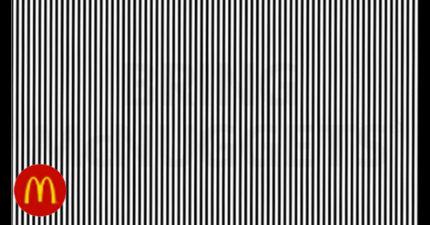 麥當勞分享視覺錯亂測驗,大量網友「還沒看到暗語」就先瞎了...