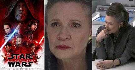 《星戰8》首映會向「莉亞公主」嘉莉費雪感動致敬,但...導演:她在對我比中指!
