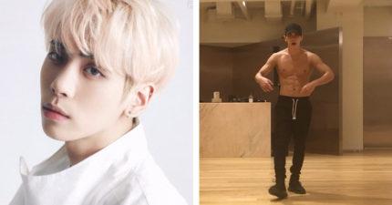 表演總監釋出「鐘鉉離世前練舞影片」裸上身露出「結實6塊肌」帥到炸:我的孩子舞跳得真好