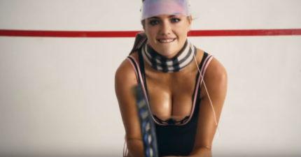 乳神凱特阿普頓打網球是你今年最完美的聖誕禮物!網友:0:48影片放慢一半速度...你會謝我的