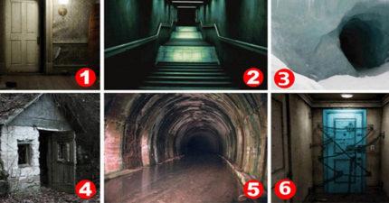 以下6個地方中「你最不敢進入的」是哪一個?它能看出你內心不為人知的「真正恐懼」!