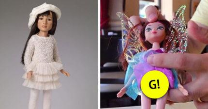 全球第一個「跨性別娃娃」推出網友大讚,但翻開娃娃裙下「有大GG」父母嚇壞!