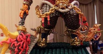 「氣球界奧斯卡」台灣隊奪下「鬼虎雙冠軍」!「打敗52國世界好手」擄獲評審:震撼人心!