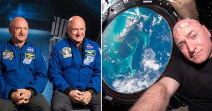 太空人DNA發生神秘突變!雙胞胎弟弟回到地球「7%基因變不一樣」,還長高5公分!