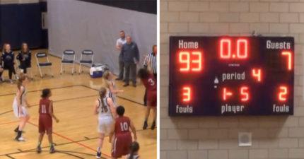 籃球比賽93:7輸到脫褲!女球員落淚「再也不打球了」,「教練致勝關鍵戰術」被罵到出面道歉!(影片)