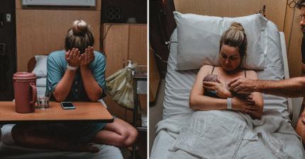 「我只想抱抱他!」孕婦堅持產下「永遠長不大的寶寶」,「生產全紀錄感動照」3個禮拜後親手埋葬