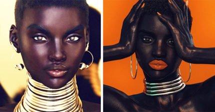 「11頭身+零瑕疵」絕色黑人超模轟動IG,攝影師爆「不可能的真實身份」網驚呆:怪不得那麼完美!