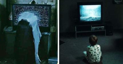7歲女兒在電視發現「死後世界頻道」超恐怖,網友一看「靈魂被吸進去」:不存在於節目表上...(影片慎入)