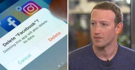 FB教主祖克柏「神隱5天」終於道歉了!藝人帶頭「棄用臉書」1.46兆蒸發,網:臉書真的很讓人心寒