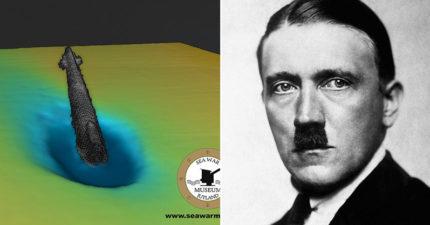 希特勒「逃跑坐的潛艇」被發現 打臉73年來死亡陰謀論
