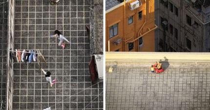 攝影師捕捉「香港天台」罕見風景 曝光現代化背後悲劇(12張)