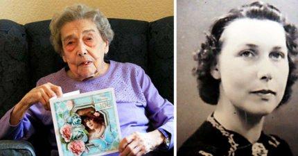 106歲人瑞奶奶透露健康秘密 她:關鍵是「不近男色」