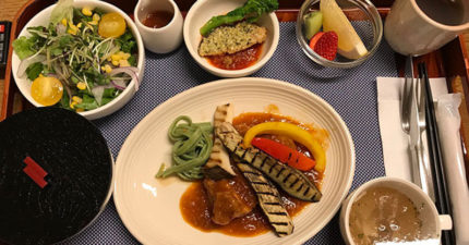 她在日本生產PO「19道可口日式月子餐照」 口水不夠流!