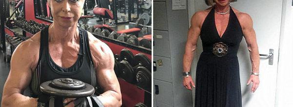 70歲「筋肉人奶奶」超健美 健身房男性見她狂問:可以舉我嗎?