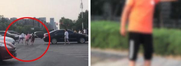 影/6小學生嬉鬧闖紅燈嚇得車輛急煞 男童笑回:不怕,我家有錢