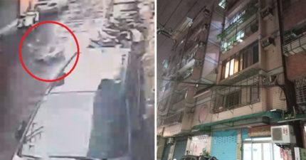 14歲小情侶從7樓相擁墜地 手機留遺書「爸爸媽媽再見」