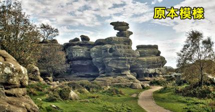 屁孩手癢摸風景區石頭 一秒毀掉3億2千年遺跡