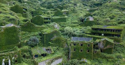 中國小漁村被青苔吞噬 人潮搬遷頻繁「時間卻像靜止」