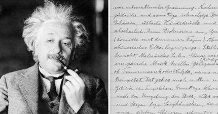愛因斯坦歧視中國人?日記親筆寫「中國人骯髒愚鈍」細節曝光