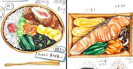 日媽寫實手繪「美食日常插畫」 光看就已經聞到香味了呢♥