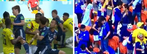 世足/日本隊2:1洗臉哥倫比亞 日球迷賽後卻「起身撿垃圾」才狂歡...外媒全看傻眼!