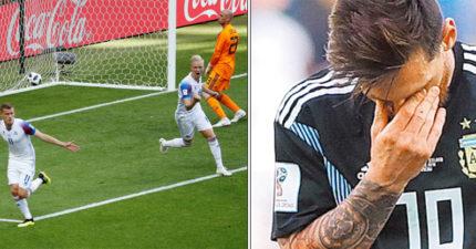 世足/梅西被「冰封球場」11次進球機會全掛0 冰島守門員帥翻「踢足球只是副業」