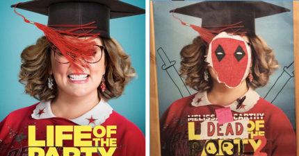 《死侍2》全新搞怪海報太吸睛 影院自曝「是員工設計的啦」
